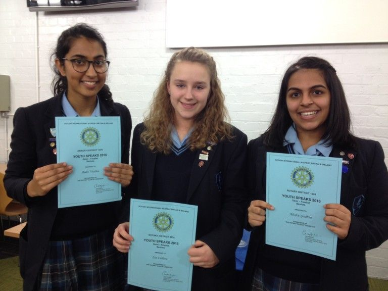 Youth Speaks winners from Leicester High School