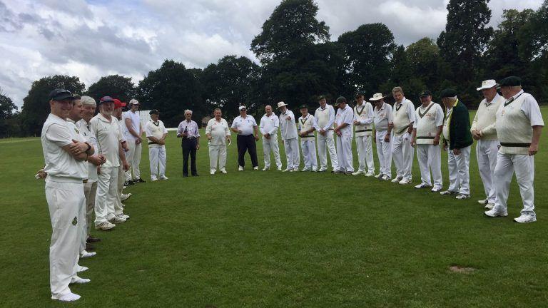 Visit of Australian cricket loving Rotarians